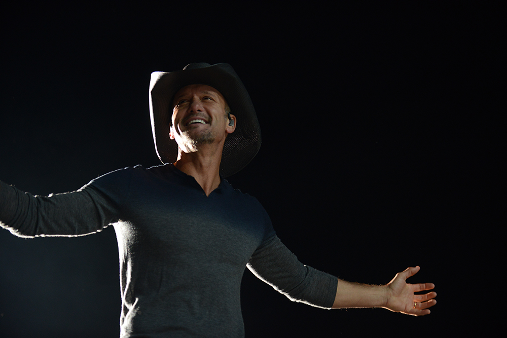 Tim McGraw at Country Fest 2015