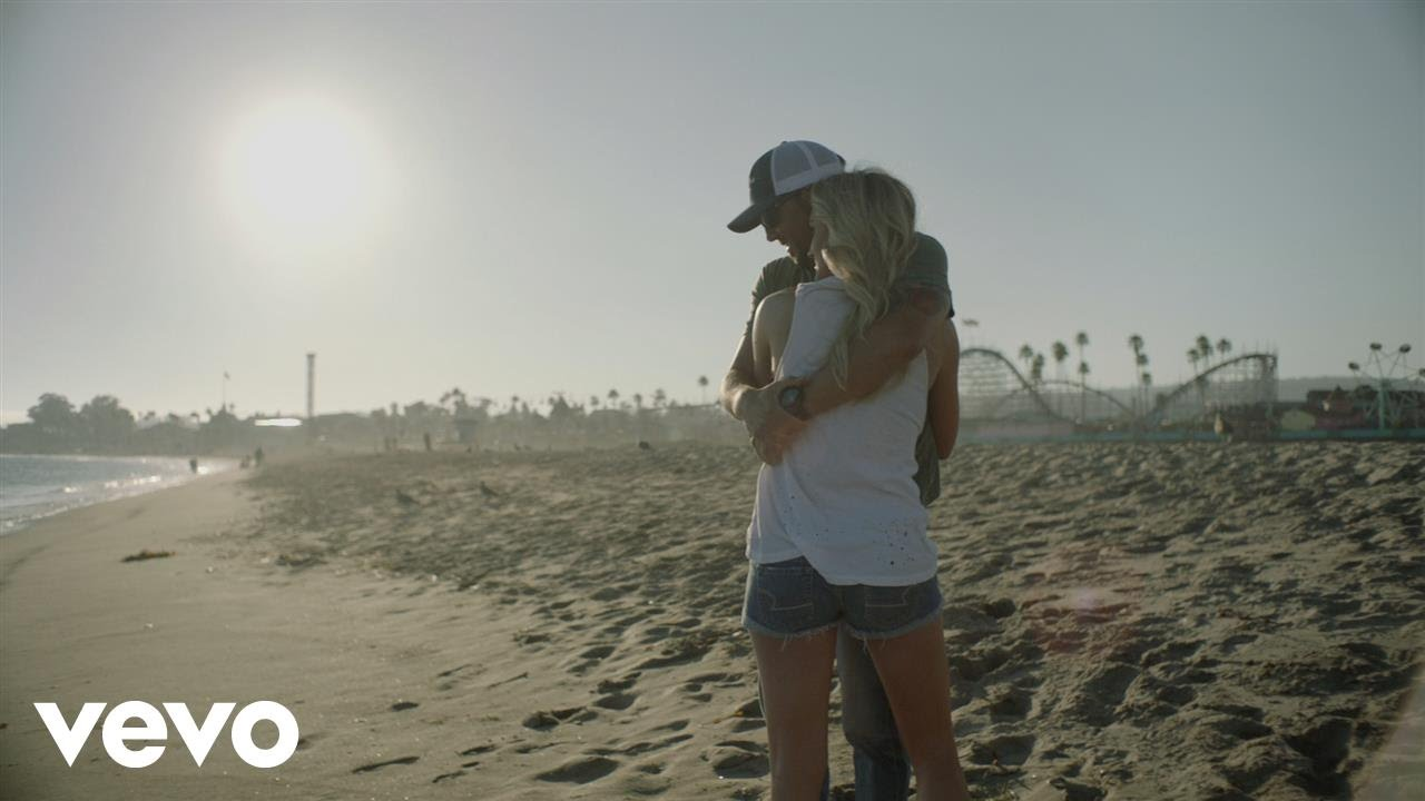 "Image from Jason Aldean's music video, ""Little More Summertime"""