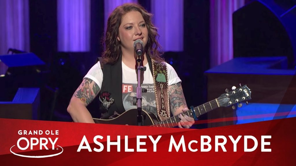 Ashley McBryde performed at the Grand Ole Opry this summer.