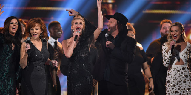 Opening number at 51st Annual CMA Awards